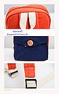 Рюкзак женский мини с пуговкой, фото 2
