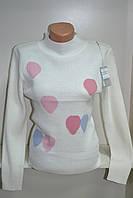 Женский джемпер под горло с длинным рукавом, фото 1