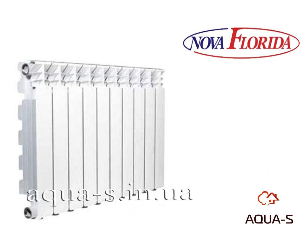 Радиатор алюминиевый Nova Florida Desideryo B4 350/100 на 9 секций (16bar) Италия