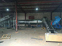 Мобильня линия для производства топливных пеллет, брикет