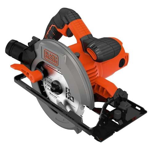 Пила дисковая Black+Decker CS1550 (1500 Вт)