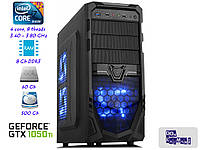 Игровой компьютер Core i7 (3,4-3,8ГГц)LGA1155/8GB/SSD 60GB/HDD 500GB/GTX 1050Ti 4GB