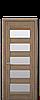 Дверное полотно Бронкс со стеклом сатин