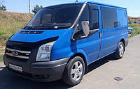 Хром накладки на зеркала Ford Transit 2003-2007 (Хромированный пластик)