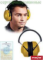 Защита слуха жёлтые с чёрными прибавками OSY Y