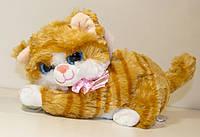 Мягкая игрушка Котик Глазастик (Кошка Мяу) 24х12 см, умеет мяукать, 111Сон
