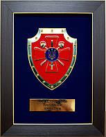Плакетка с гербом «МО» Украины