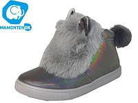 Детские ботинки зайчики, р.30-35, Польша