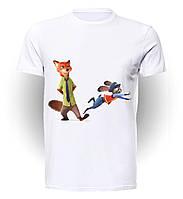 Футболка GeekLand Зверополис Zootopia прыжок art ZT.01.003
