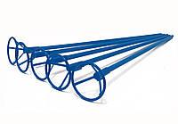 Палочки держатели для шариков фольгированных синие 40 см. (50 шт.)