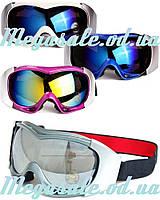 Маска гірськолижна/лижні окуляри Spyder Pro з подвійним склом: 4 кольори