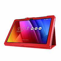 Чехол Asus ZenPad 10'' Z300C / Z300CG / Z300M / Z301M / Z301ML / Z301MFL книжка красный