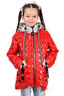 Яркая весенняя курточка для девочек, фото 1