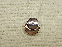 Золотая подвеска с бриллиантом. Артикул 880395-К
