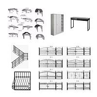 Изделия из черного металла на заказ | Металлоизделия: изготовление и продажа