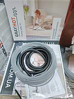 Тепла підлога електрична GrayHot 3,8 м.кв під плитку (нагрівальний кабель 38м)