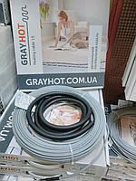 Теплый пол GrayHot 5,1 м.кв (нагревательный кабель 51м), фото 1