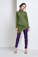 Асиметричная женская блуза, одежда от дизайнера