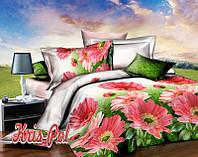 Комплект постельного белья герберы двуспальный