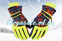 Рукавички гірськолижні жіночі Burn (рукавички лижні): жовтий