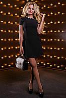 Платье с карманами Романтика  чёрный (44-50)