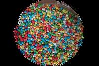 """Посыпка сахарная фигурная микс """"Конфетти перламутровое мини"""", 0,4 кг"""