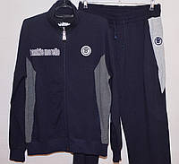 Мужской спортивный костюм FRANKIE MORELLO (M-XL) Куртка, Без капюшона, Мужской, FRANKIE MORELLO, XL, Талия, Турция, Двунитка