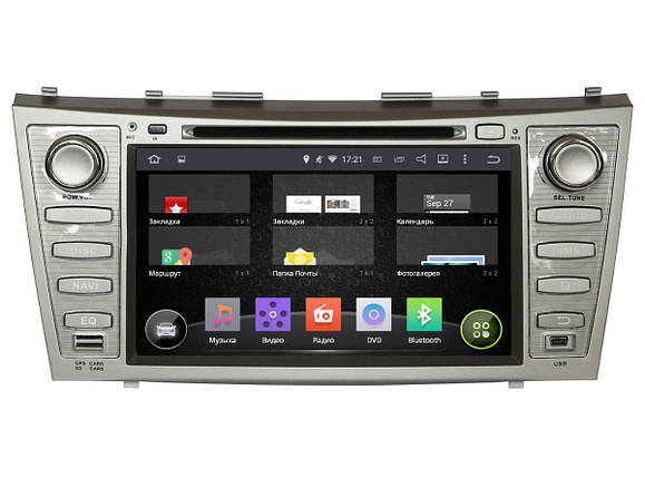 Автомагнитола Incar Toyota Camry 40 Android 4.4.4., фото 2
