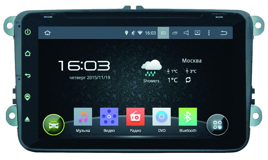 Автомагнитола Incar Volkswagen Passat B6 Android 5.1. сенсорные кнопки