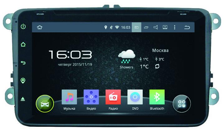 Автомагнитола Incar Volkswagen Passat B6 Android 5.1. сенсорные кнопки, фото 2