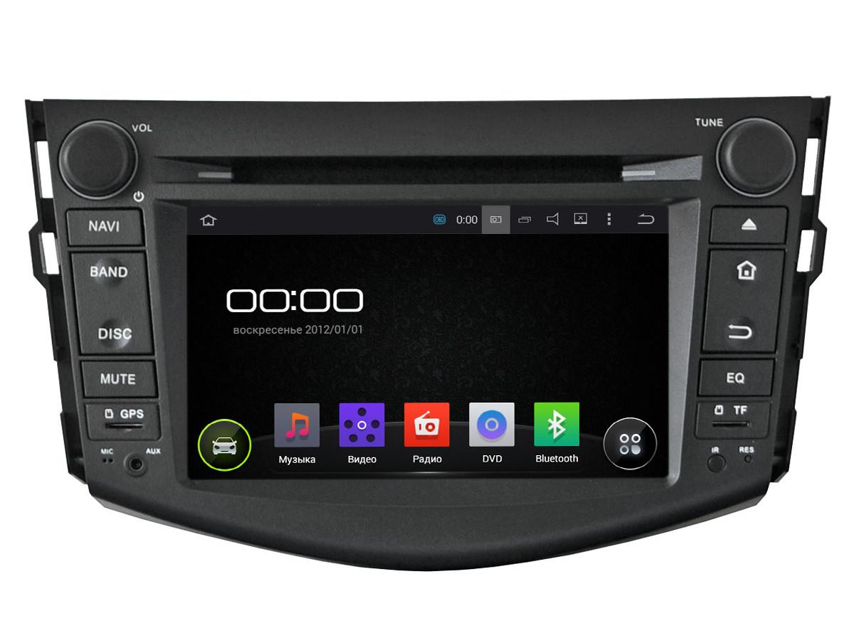 Автомагнитола Incar Toyota RAV-4 2006-2012 Android 4.4.4.