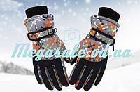 Перчатки горнолыжные женские Burn (перчатки лыжные): черный
