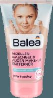 Средство для умывания и снятия макияжа с глаз Balea, 150 мл