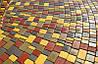Плитка тротуарная Носталит (Старый город), толщина 60 мм, цвет Красный