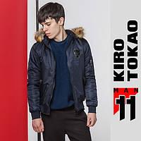 11 Kiro Tokao   Куртка осенне-весенняя японская мужская 9991 т-синий