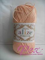 Пряжа Ализе Форевер . Цвет №282 Нежный персик.