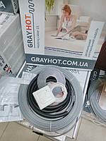 Теплый пол электрический 5,1м.кв GrayHot + терморегулятор с датчиком