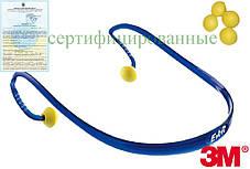 Вкладиші протишумові E-A-RBAND на дужці 3M-EAR-BAND Y