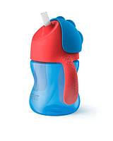 Avent чашка з трубочкою 210 мл. 9+ Синій