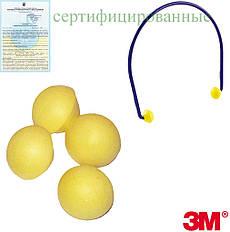 Запасні наконечники до противошумным вкладишів 3M-EAR-BAND-WW Y