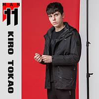 11 Киро Токао   Куртка двойная весна-осень японская 9952 черный