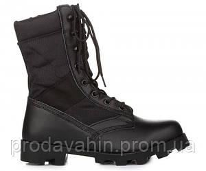 Мужские черные стильные сапоги VELCO US ARMY Jungle Condura Tropical Combat 9 inch Black