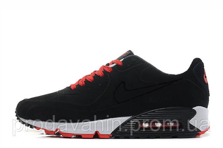 750f9cd6 ▻ Купить Стильные мужские кроссовки Nike Air Max 90 VT Tweed Black ...