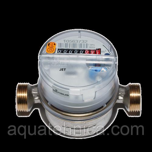 Счётчик горячей воды Sensus ResidiaJet Qn 2,5/90 Ду 15 мм класс В