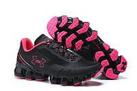 Женские кроссовки баскетбольные Under Armour Scorpio Black Pink