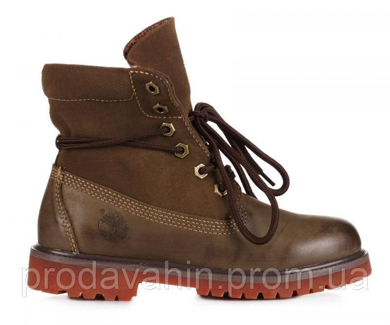 b23c9952 ▻ Купить Теплые женские ботинки на меху Timberland Bandits Khaki W ...