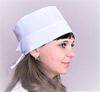 Шапочка медицинская женская с отворотом