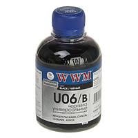 Чорнило універсальне WWM U06B (200мл) чорний /HP/LEXMARK/CANON/