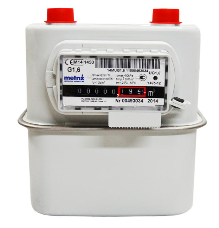 Счетчик газа Metrix G 1.6