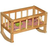 Кроватка деревянная (44*24*28) ВП-002 Винни Пух